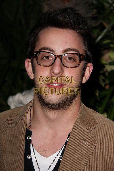 ADAM ROSE .QVC Red Carpet Style held at The Four Seasons Hotel, Beverly Hills, CA, USA..March 5th, 2010.headshot portrait brown glasses stubble facial hair   .CAP/ADM/CH.©Charles Harris/AdMedia/Capital Pictures