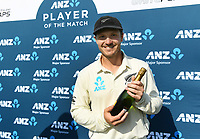 25th November 2019; Mt Maunganui, New Zealand;  ANZ players of the day, BJ Watling International test match day 5 of 1st test, New Zealand versus England;  at Bay Oval, Mt Maunganui, New Zealand.