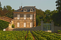 The half house at Chateau d'Armailhac (previously known as Mouton Baronne, Mouton Baron, Mouton d'Armailhac...). Did they run out of money after half was built? Pauillac, Medoc, Bordeaux