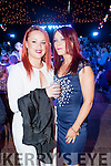 Pictured at the Austin Stacks Strictly Come Dancing held in the Dome, Tralee on Saturday night were l-r: Emma Nelligan and Vicky Egan, all from Tralee.