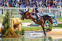 AUS-Annabel Armstrong rides Quaprice during the Cross Country for the RM Williams CCI4*-S. 2019 AUS-Mitsubishi Motors Australian International 3 Day Event. Victoria Park. Adelaide. South Australia. Saturday 16 November. Copyright Photo: Libby Law Photography