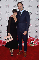 HOLLYWOOD, CA - APRIL 7:  Constance Zimmer and Russ Lamoureux at the My Friend's Place 30th Anniversary Gala at the Hollywood Palladium on April 7, 2018 in Hollywood, California. (Photo by Scott KirklandPictureGroup)