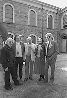 New York, NY - May 1987 Beat poets Jerome Rothenberg,  Ed Sanders , Allen Ginsburg, Anne Waldman Kenneth Koch, St Mark's In The Bowery
