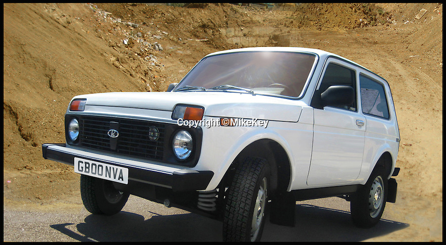 BNPS.co.uk (01202 558833)<br /> Pic: MikeKey/BNPS<br /> <br /> ***Please Use Full Byline***<br /> <br /> The Lada Niva 4 X 4. <br /> <br /> A Soviet relic that was once the laughing stock of British roads is set to become a surprise hit due to the demise of the iconic Land Rover Defender.<br /> <br /> With production of the classic British motor coming to an end this year, outdoor types are finding an unlikely replacement for the beloved model - the Lada Niva.<br /> <br /> The boxy Russian car was dubbed &quot;a skip on wheels&quot; when it was first unveiled alongside its even more mocked sister model the Riva in the late 1970s, and despite a cult following was pulled from production in 1997.<br /> <br /> But it is now winning over an army of new fans in rural areas across the country after canny dealer Mark Key brought it back to Britain for the first time in nearly 20 years.