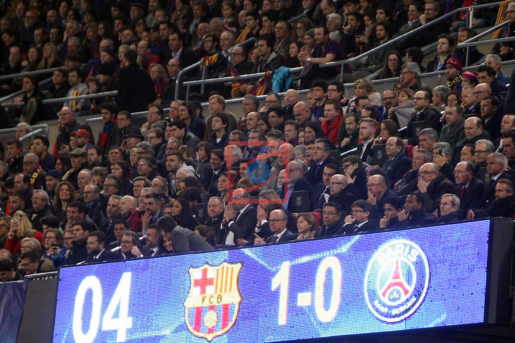 UEFA Champions League 2016/2017.<br /> Round of 16 2nd leg<br /> FC Barcelona vs Paris Saint-Germain: 6-1.