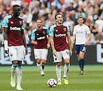 West Ham's Mark Noble looks on dejected during the premier league match at the London Stadium, London. Picture date 23rd September 2017. Picture credit should read: David Klein/Sportimage