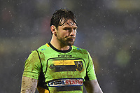 Ben Foden of Northampton Saints looks on during a break in play. Anglo-Welsh Cup Semi Final, between Bath Rugby and Northampton Saints on March 9, 2018 at the Recreation Ground in Bath, England. Photo by: Patrick Khachfe / Onside Images