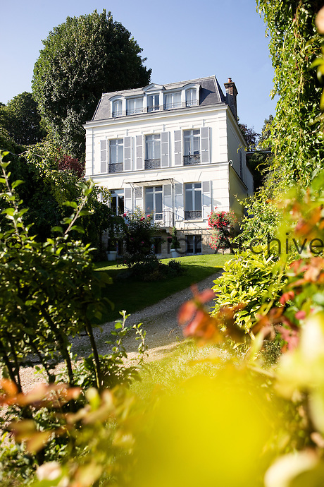 Set in a garden full of ancient trees this villa, which dates from the 19th century, could come straight from the pages of Marcel Proust