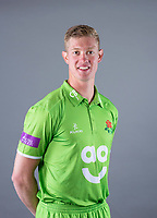 Picture By Allan McKenzie/SWpix.com - 11/04/18 - Cricket - Lancashire County Cricket Club Photo Call Media Day 2018 - Emirates Old Trafford, Manchester, England - Keaton Jennings.