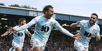 Blackburn Rovers' Bradley Dack celebrates scoring his side's first goal <br /> <br /> Photographer Rachel Holborn/CameraSport<br /> <br /> The EFL Sky Bet Championship - Blackburn Rovers v Aston Villa - Saturday 15th September 2018 - Ewood Park - Blackburn<br /> <br /> World Copyright &copy; 2018 CameraSport. All rights reserved. 43 Linden Ave. Countesthorpe. Leicester. England. LE8 5PG - Tel: +44 (0) 116 277 4147 - admin@camerasport.com - www.camerasport.com