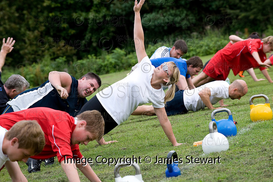 TOTAL BODY BOOT CAMP AT LAURIESTON PLAYING FIELDS.