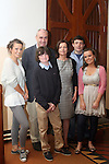 The Nicholson family at the confirmation in Termonfeckin Church...Photo NEWSFILE/Jenny Matthews.(Photo credit should read Jenny Matthews/NEWSFILE)....This Picture has been sent you under the condtions enclosed by:.Newsfile Ltd..The Studio,.Millmount Abbey,.Drogheda,.Co Meath..Ireland..Tel: +353(0)41-9871240.Fax: +353(0)41-9871260.GSM: +353(0)86-2500958.email: pictures@newsfile.ie.www.newsfile.ie.FTP: 193.120.102.198.