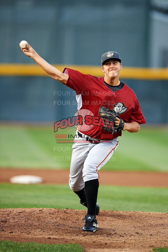 Altoona Curve starting pitcher Jameson Taillon #30 during an Eastern League game against the Erie Seawolves at Jerry Uht Park on August 31, 2012 in Erie, Pennsylvania.  Altoona defeated Erie 4-3.  (Mike Janes/Four Seam Images)