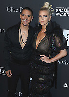 BEVERLY HILLS - FEBRUARY 9:  Evan Ross and Ashley Tisdale at the 2019 Clive Davis Pre-Grammy Gala at the Beverly Hilton on February 9, 2019 in Beverly Hills, California. (Photo by Xavier Collin/PictureGroup)