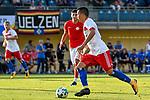 31.07.2017, Silberstadt Arena, Schwaz, AUT, FSP, Hamburger SV vs Antalyaspor, Bobby Wood (Hamburg #7)<br /> <br /> Foto &copy; nordphoto / Hafner
