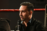 Paulie Malignaggi during the Ultimate Boxxer Launch at the ME London Hotel on 5th February 2018