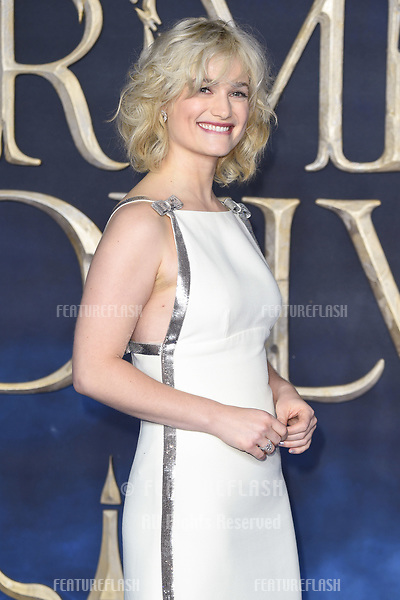 """LONDON, UK. November 13, 2018: Alison Sudol at the """"Fantastic Beasts: The Crimes of Grindelwald"""" premiere, Leicester Square, London.<br /> Picture: Steve Vas/Featureflash"""