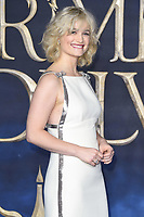 LONDON, UK. November 13, 2018: Alison Sudol at the &quot;Fantastic Beasts: The Crimes of Grindelwald&quot; premiere, Leicester Square, London.<br /> Picture: Steve Vas/Featureflash