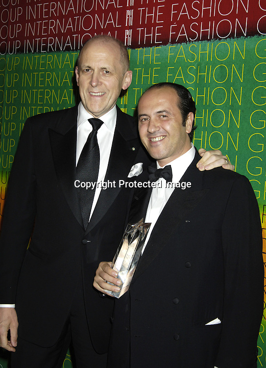 Andrew Jennings and Prosper Assouline ..at The Fashion Group International's  22nd Annual Night of Stars Awards on October 27, 2005 at Cipriani. ..Sandra Bullock was presented with the Hunanitarian Award..Photo by Robin Platzer, Twin Images