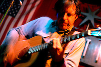 John Doe performs with The Knitters at The Continental Club in Houston on August 8, 2005.