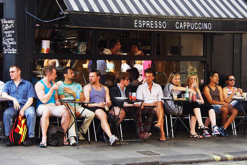 London Soho Street