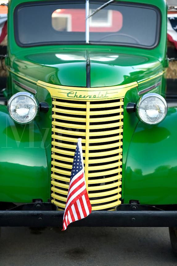 Old Chevrolet truckChamplain Valley Fair in Essex Junction, VT