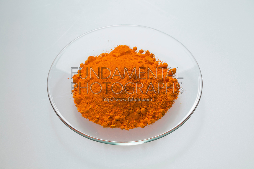 ORANGE CADMIUM SULFIDE<br /> CdS - Inorganic Compound<br /> Orange cadmium sulfide is easily isolated and purified from sphalerite and wurtzite.  The compound is the principle source of elemental cadmium for all commercial applications. Thin films of CdS are components in photoresistors and solar cells.