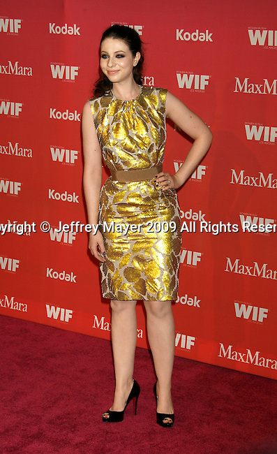 CENTURY CITY, CA. - June 12: Michelle Trachtenberg arrives at Women In Film's 2009 Crystal + Lucy Awards held at the Hyatt Regency Century Plaza on June 12, 2009 in Century City, California.