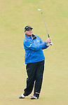 Paul Lawrie plays his approach to the 9th hole during the pro-am ahead of the Barclays Scottish Open, played over the links at Castle Stuart, Inverness, Scotland from 7th to 10th July 2011:  Picture Stuart Adams /www.golffile.ie  6th July 2011