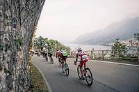 descending fast in the approach towards the Madonna del Ghisallo (754m)<br /> <br /> 113th Il Lombardia 2019 (1.UWT)<br /> 1 day race from Bergamo to Como (ITA/243km)<br /> <br /> ©kramon