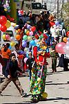 Purim parade at Hevron, Isarel.