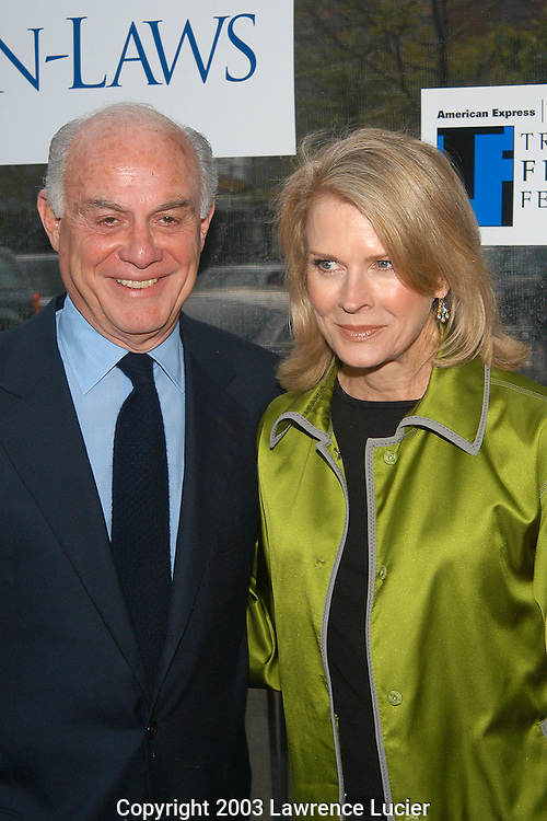 Marshall Rose and Candice Bergen (R)