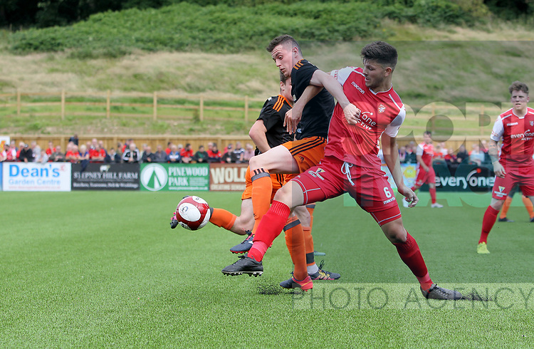 David Parkhouse of Sheffield Utd during the pre season match at the Flamingo Land Stadium, Scarborough. Picture date 15th July 2017. Picture credit should read: Richard Sellers/Sportimage