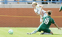 Niki Cross tries to hold back Katie Larkin,..Saint Louis Athletica and LA Sol, played to a 0-0 tie at Robert Hermann Stadium in St Louis, MO. April 25 2009.