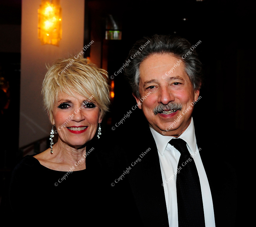 Sara and her husband, Madison Mayor Paul Soglin, attend the 27th annual Frostiball on Saturday, 2/2/13, at the Overture Center in Madison, Wisconsin
