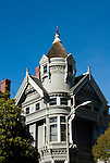 California: San Francisco. Haas-Lilienthal Victorian house. Photo copyright Lee Foster. Photo #: san-francisco-victorians-22-casanf77470