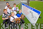 Getting ready for the All-Ireland Fleadh Ceoil next weekend are Kevin O'Neill, Ryan O'Neill, Neilus MacKessy, Roisin Kissane and Darragh MacKessy from the Ballydonoghue/Lisselton CCE.