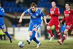 St Johnstone v Aberdeen....02.03.11 .Liam Craig clean through on goal misses.Picture by Graeme Hart..Copyright Perthshire Picture Agency.Tel: 01738 623350  Mobile: 07990 594431