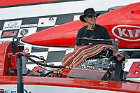 "Engine man Ken Brodie, Sr. GP-50 ""Intensity""          (Grand Prix Hydroplane(s)"
