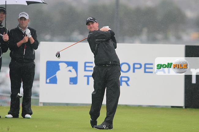 Garth Mulroy (RSA) on the 2nd on Day 1 of the 2012 Irish Open at Royal Portrush Golf Club, Portrush, Co.Antrim, 28/6/12...(Photo Jenny Matthews/www.golffile.ie)
