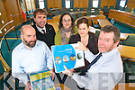 The Kerry County Council Forward Planning Unit, who are responsible for producing the County Development Plan and the Local Area Plans. .L-r: Eamon Fleming, Donal Murphy, Ann Mooney, Marguerite Enright and Tom Sheehy.   Copyright Kerry's Eye 2008