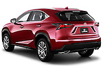 Car pictures of rear three quarter view of a 2015 Lexus NX NX 200t 5 Door SUV Angular Rear