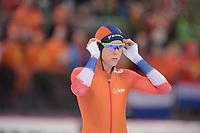 SPEEDSKATING: HAMAR: Vikingskipet, 28-02-2020, ISU World Speed Skating Championships, Sprint, 500m Ladies, Jorien ter Mors (NED), ©photo Martin de Jong