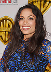LAS VEGAS, CA - MARCH 29: Actress Rosario Dawson arrives at CinemaCon 2017 Warner Bros. Pictures Invites You to ?The Big Picture?, an Exclusive Presentation of our Upcoming Slate at The Colosseum at Caesars Palace during CinemaCon, the official convention of the National Association of Theatre Owners, on March 29, 2017 in Las Vegas, Nevada.