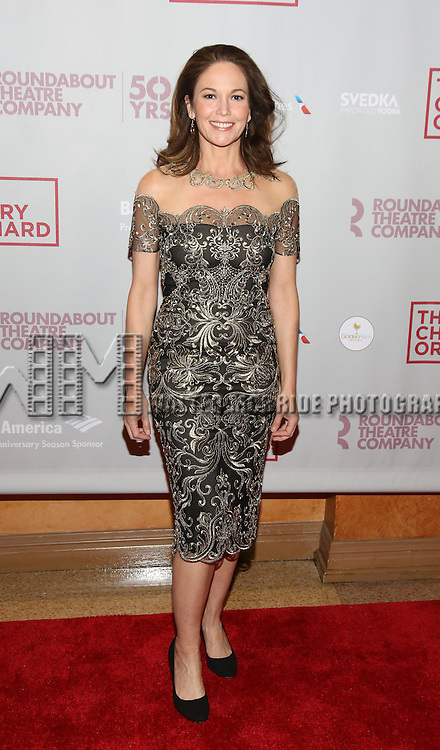 "Diane Lane attends the Broadway Opening Night performance press reception for  ""The Cherry Orchard""  at the American Airlines Theatre on October 16, 2016 in New York City."