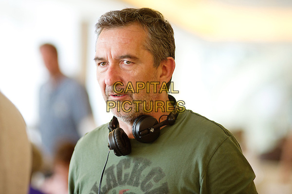 Director Pascal Chaumeil<br /> on the set of A Long Way Down (2014) <br /> *Filmstill - Editorial Use Only*<br /> CAP/FB<br /> Image supplied by Capital Pictures
