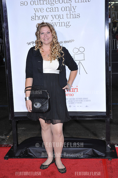 "Amber Frakes at the Los Angeles premiere of ""Zack and Miri make a porno"" at the Grauman's Chinese Theatre, Hollywood..October 20, 2008  Los Angeles, CA.Picture: Paul Smith / Featureflash"