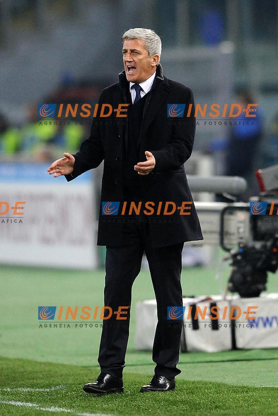 Vladimir Petkovic, allenatore della Lazio.05/01/2013 Roma.Stadio Olimpico.Football Calcio 2012 / 2013 .Campionato di Calcio Serie A.Lazio vs Cagliari.Foto Insidefoto / Antonietta Baldassarre.