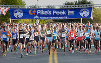pikes peek 10 k<br /> rockville md<br /> 4/21/13