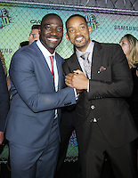 NEW YORK, NY-August 01`: Will Smith, Adewale Akinnuoye-Agbaje, at Warner Bros. Pictures & DC, Atlas Entertainment  presents the World Premiere of Suicide Squad  at the Beacon Theatre in New York. NY August 01, 2016. Credit:RW/MediaPunch